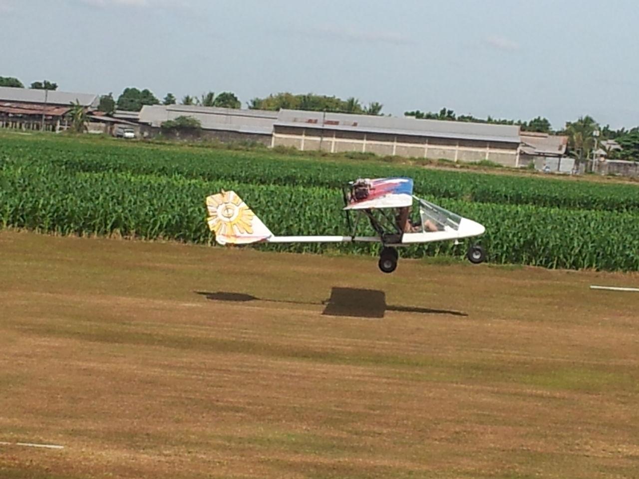 light plane activityに参加~模型のような飛行機に乗ってきました~